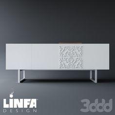 Linfa Design Adorna CREDENZA-VASSOIO