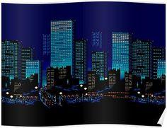 Pixel art city 2560x1440 oc wallpapers pinterest for Ponteggio ceta dwg