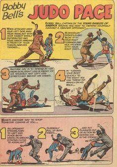 Bygone Era, Downs, Scissors, Judo, Remembering, Karate, Legal, Old Comics, Kung Fu