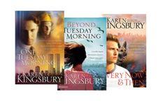 9/11 Series- Karen Kingsbury Bk #1 One Tuesday Morning, Bk #2 Beyond Tuesday Morning, Bk #3 Every Now and Then