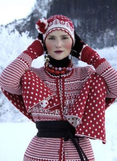 Red & White Christmas Outfit