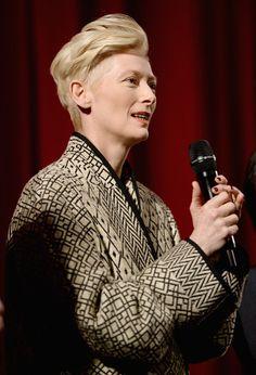 Tilda Swinton Photos - 'Snowpiercer' Premieres in Berlin - Zimbio