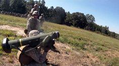 Marine Combined Anti-Armor Team: Firing TOW & Javelin Missiles