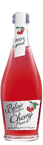 Belvoir Fruit Farms Cherry Pressé 25CL | Irresistibly red, ripe cherries… | What could be more delicious than real, pressed English cherry juice blended with sparkling Belvoir spring water? This wonderful drink is perfect served chilled, or if you're feeling naughty, with a shot of vodka for a fruity cocktail.