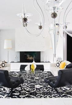 High Style Living Room // Photographer Kim Christie // House & Home