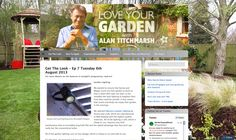 Love Your Garden. TV. Aug. 2013.  https://loveyourgarden2.wordpress.com/get-the-look/get-the-look-2013/get-the-look-episode-7-tuesday-6th-august/