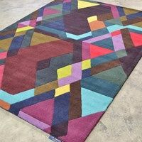 Mosaic Rugs 57607 by Ted Baker buy online from the rug seller uk Ted Baker, Mosaic Designs, Colorful Rugs, Multicoloured Rugs, Stripes Design, Wool Rug, Floor Rugs, Lana, Vibrant Colors