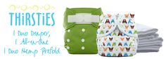 I love these cloth diapers