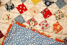 nine patch with backing | blogged with tutorial. this is an … | Flickr