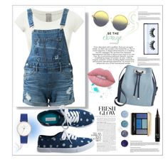 """#48 Overalls!"" by andreea-cris ❤ liked on Polyvore featuring Matthew Williamson, Guild Prime, Aéropostale, INC International Concepts, Huda Beauty, Terre Mère, Guerlain, Lime Crime and andreea"