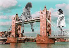 Vanessa Deussen met en vente un de ses plus beau collage