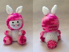 Coelho em crochê  Rabbit crochet