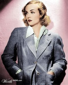 Carole Lombard by Trit