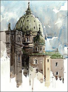 Kunstdruck auf Aquarell-Papier aus meiner von CitizenSketcher