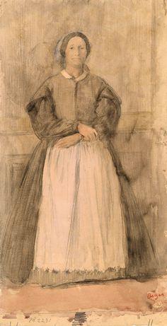 Edgar Degas | 1834-1917 | Rosa, La Duchessa di Morbilli | The Morgan Library & Museum
