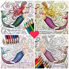 As caudas das sereias da Carol tem inspirado todos nós!