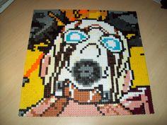 Borderlands 2 Psycho from cover Hama Perler beads par ABeadsCStart, £25.00