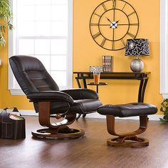 Mid century leather recliner leather recliner recliners and mid