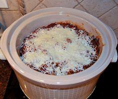 Krisi's Kreations: {Wacky Wednesday} Recipe: Crock pot Lasagna – My WordPress Website Crock Pot Food, Crock Pot Slow Cooker, Slow Cooker Recipes, Gourmet Recipes, Crockpot Recipes, Cooking Recipes, Crock Pots, Healthy Recipes, Lasagna In The Oven