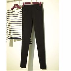 legging very warm but looks skinny good with boots or ugg im 5'' 110 lbs Pants Skinny
