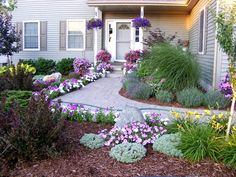 entryway landscaping ideas | and M Landscaping - Home & Office Entryways