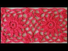 Crochet : Cuadrado # 3 - YouTube                                                                                                                                                      Más