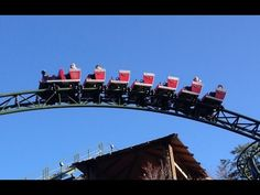 Firechaser Express Roller Coaster POV Dollywood Pigeon Forge Tennessee #coaster #dollywood