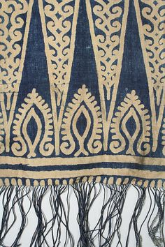 Ceremonial Textile (Sarita), Indonesia, Sulawesi. 19th- early 20th century.