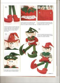 Doll Clothes Patterns, Doll Patterns, Christmas Art, Christmas Ornaments, Advent Calendar, Dolls, Holiday Decor, Basket Ideas, Cushions For Chairs