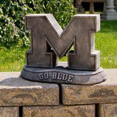 Michigan Wolverines Vintage Mascot Garden Statue