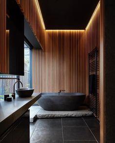"29.8k Likes, 124 Comments - ARCHITECTURE HUNTER (@architecture_hunter) on Instagram: ""#architecture_hunter  Beautiful bathroom  Architects: Splinter Society Architecture…"""