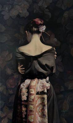 Zhao Kailin, estilo figurativo.