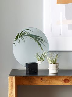 Online-Only Decor Items Octagon Mirror, Circular Mirror, Cubes, Mirrors And Marble, Dresser Top, Floating Nightstand, Decoration, Decorative Items, Natural Wood