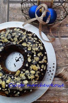 Kulinarne przygody Gatity: Ciasto marchewkowe z polewą czekoladową
