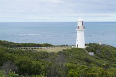 Cape Otway Lighthouse on the Great Ocean Road by spinning_webbs