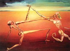 Rock 'n Roll, 1957, Salvador Dali