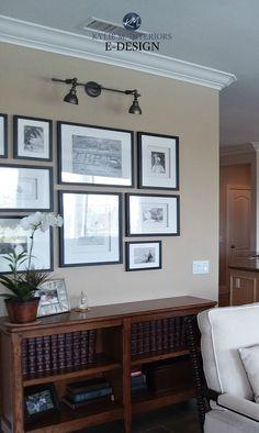 New Dark Wood Furniture Bedroom Paint Benjamin Moore 32 Ideas Beige Paint Colors, Bedroom Paint Colors, Paint Colors For Living Room, Paint Colors For Home, Neutral Paint, Neutral Walls, Wall Colors, Shaker Beige Benjamin Moore, Cheap Interior Wall Paneling