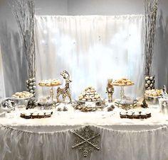 Mary's Winter Wonderland  | CatchMyParty.com