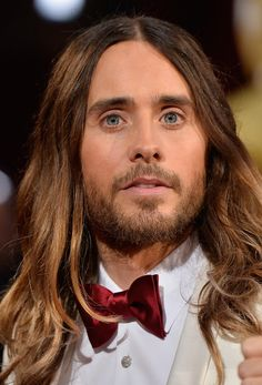 First of all, no matter what the event was, his hair was actually flawless. | 27 Reasons Jared Leto Was The Absolute Best Person During All Of Awards Season