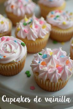 Cupcakes de vainilla {lo dulce de la sencillez}