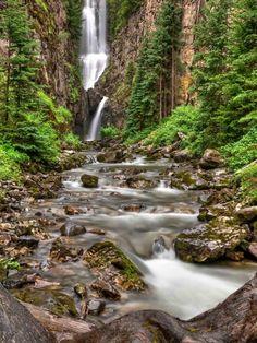 Southwest Colorado - The San Juans-Mystic Falls