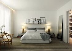 bedroom that gives you a calm mood
