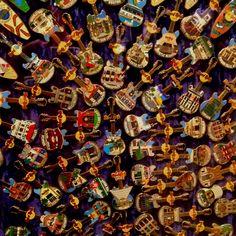 Hard Rock Cafe pins!