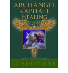 Archangel Raphael is the angel most associated with healing, known throughout the world for his miraculous powers and ability to help those in need. These oracle cards, each featuring a painting of Archangel Raphael helps protect and heal yourself, your family, your clients or your friends.