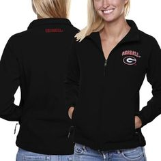 Georgia Bulldogs Ladies Athena Jacket - Black