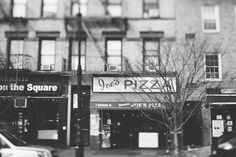 joe's pizza, the village. 7 Carmine Street New York, NY. apparently the best pizza in the city