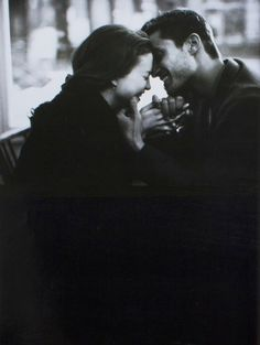 A tender moment • photo: Dominique Issermann for Emporio Armani Magazine (Sept. 1995) on Vfiles