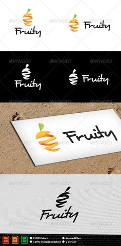 Fruity Logo Template - Download…