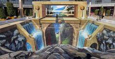 3D Street Art Painting da record per Reebok