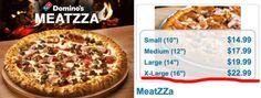 An extra-large MeatZZa from Domino's.   18 Things That Are Currently More Expensive Than A Barrel Of Alberta Oil